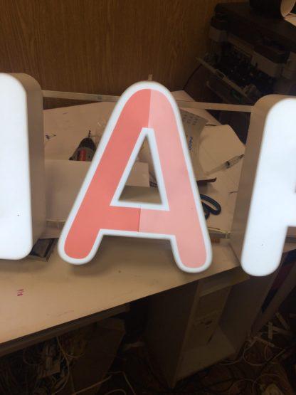 световые буквы изготовение